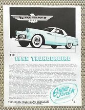 THE CLASSIC 1955 FORD THUNDERBIRD WITH 292 Y-BLOCK V8 LITERATURE FACT SHEET 7