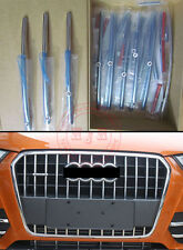 New high quality stainless steel Front Grille Trim For Audi Q3 2012 - 2015