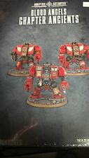 Warhammer 40K Space Marine BLOOD ANGELS CHAPTER ANCIENTS (3 Dreadnoughts) new