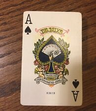 Antique New York Consolidated Deluxe 142 Playing Cards US Vintage 1920'Art Deco