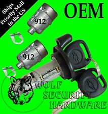 Chevy Silverado GMT800 99-00 Ignition Key Switch Lock Cylinder & Door Lock Set