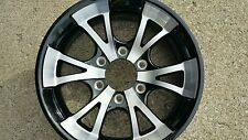 16X6  ALUMINUM  TRAILER  RV  WHEELS 6 x 5.5 LUG  TRAILER CITY DIRECT WOW PRICE!