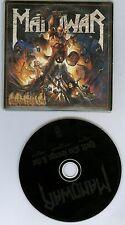Manowar Hell On Stage Live promo CD single