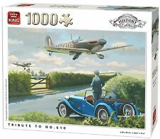 1000 Piece History Collection Jigsaw Puzzle - TRIBUTE TO NO.610 Squadron 05394