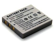 3.7v 1200mAh Li-ion Battery for Pentax Optio E65 E75 E85 L20 M85 T10 T20 X