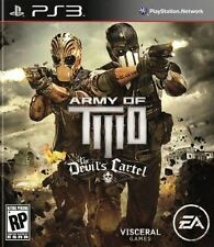 Army Of Two: The Devil's Cartel - Action Tactical Shooter Mercenaries PS3 NEW