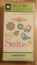CRICUT LITE CARTRIDGE - LOVELY FLORAL #2000166 - CREATIVE FEATURE-OVER 50 IMAGES