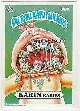 Die Total Kaputten Garbage Pail Kids GPK Topps German 1994 #8 Karin Karies