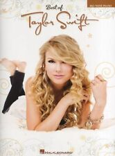 Best Of Taylor Swift Big Note Piano Learn to Play Country Pop Music Book