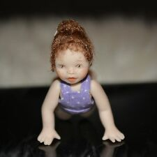 dollhouse miniature porcelain doll girl toddler 1:12