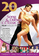 Song & Dance Classics Film Collection: 20 Movies (DVD, 2013, 4-Disc Set) NEW