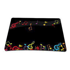 Music Note Anti-slip MousePad Mice Mat For Optical Wireless Laser Mouse C0