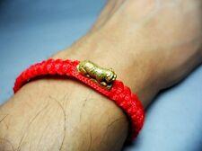 LP PERN Buddha Takrut Bracelet Magic Tiger Thai Amulet Power Full Life Protect
