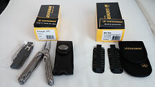 NEW Leatherman Charge XTi Titanium Multi-Tool Premium Leather Sheath + Bit Kit