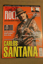 Teraz Rock 11/2005 Santana, Sting,Rammstein,Mike Oldfield,The Strokes