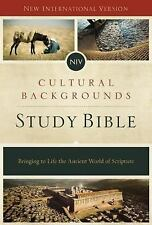 NIV, Cultural Backgrounds Study Bible, Hardcover : Bringing to Life the...