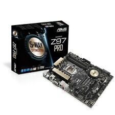 INTEL I7 4790 QUAD CORE CPU ASUS Z97 PRO ATX MOTHERBOARD BUNDLE COMBO KIT