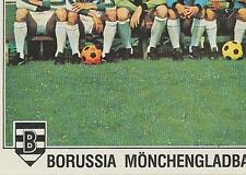 N°270 MONCHENGLADBACH TEAM 3/4 STICKER PANINI EURO FOOTBALL 79 DEUTSCHLAND