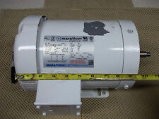 UNUSED MARATHON 50HZ 1HP 3 PHASE AC MOTOR