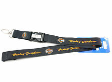 Genuine Harley Davidson Licensed Lanyard Neck Strap Necklace ID Holder Keychain