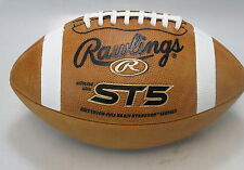 RAWLINGS ST5 Pro Preferred Official Leather Football FREE SHIP 50% OFF!!