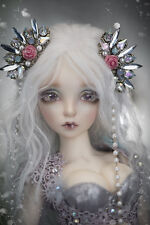 BJD 1/4 Doll Sia free eyes + face make up--Human body