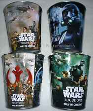 NEW Exclusive Set of 4 LE Star Wars ROGUE ONE Movie Pop Corn Tin Bucket Basket