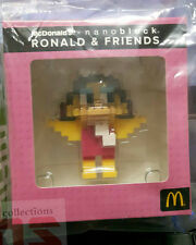 Malaysia Mcdonald Nanoblock Ronald & Friends with box 2016 BIRDIE