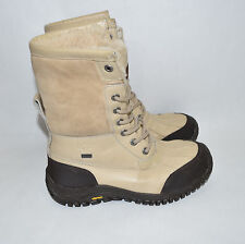 UGG Adirondack II Cold Weather Duck Boots Waterproof Size 7.5 Sand