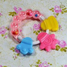 Baby Kleinkind Beißring Spielzeug molare Rod lustige Handglocken Kauenspielwaren