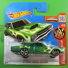 HOT WHEELS 2016 -  ´69 Dodge Coronet Superbee -  HW Flames  - 94 -  neu in OVP