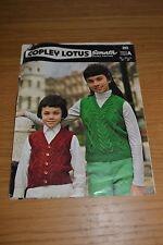 Copley Lotus * Overtop & Chaleco Tejer patrón * Sonata dk * 293