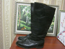 New Russian Soviet Army Officer Leather Riding Boots Size 44 US 10.5 RARE