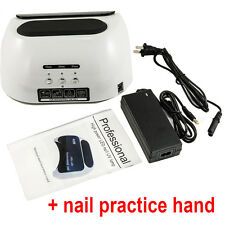 48W Pro CCFL & LED Nail Cure Lamp UV Gel Dryer Light Timer for Gel Polish PP US