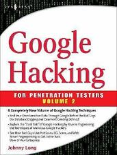 Google Hacking for Penetration Testers Vol. 2 by Johnny Long (2007, Paperback)