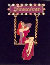 Disney DLR - Jessica Rabbit on Swing (Dangle) LE NOC HTF Pin