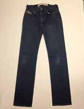 Diesel Industry Dark Blue Denim Jeans 27X32 Straight Leg Made In Italy ((WOW!))