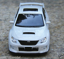 Subaru Alloy Diecast 1:36 Car Model Toy Car  Kids Gift Pull Back White Color
