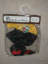 """NIP Muffy VanderBear Complete Outfit """"Highland Fling""""Scottish Dance Collection"""