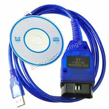 KKL VAG-COM 409.1 OBD2 USB Cable Auto Scanner Diagnostic Tool for Audi VW SEAT