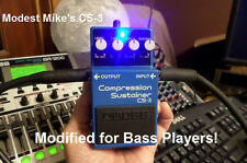Modest Mike's Boss CS-3 Modified for Bass Players!