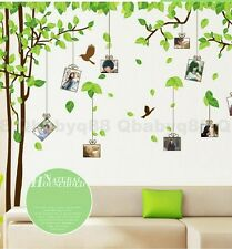 Photo Frame Memory Tree Wall decal Removable sticker decor family home Art Mural