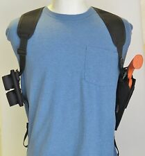 "6"" Revolver Shoulder Holster Ammo Pouch for RUGER GP100"