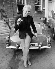 Sting MGB GT MG  Black and White Art Poster Print