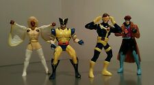 "Very Rare All 4 X-Men Burger King 4"" Figures MARVEL COMICS 1996 The Complete Set"