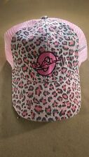 Pink Leopard 9 Ball Hat / Cap Pool Billiards H21 w/ FREE Shipping
