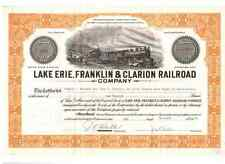 Lake Erie Franklin & Clarion Railroad Company 1973
