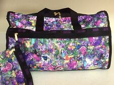 NWT Lesportsac Mika Ninagawa Mika's Utopia Large Weekender Carry-On w Pouch LE