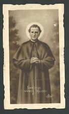 Estampa antigua San Joan Bosco andachtsbild santino holy card santini