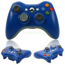 New Wireless Gamepad Remote Controller for Microsoft Xbox 360 Console Blue